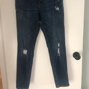 Old Navy Jeans - Old Navy ripped Rockstar jeans